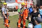 Velké hasičské oslavy se konaly v městské části Stará Role.