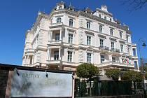 Karlovarský hotel Bristol.