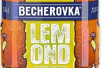 Karlovarská Becherovka Jan Becher má nový design lahví likéru lemond. Navrhli jej mladí výtvarníci.