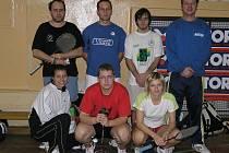 Družstvo Jiskry Nejdek po sestupu z II. ligy doplnili Bernášek, Osladilová a Fridrichová.