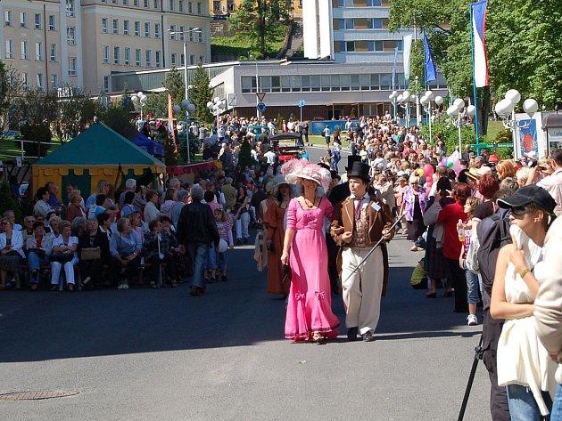 Zahájení 103. lázeňské sezony v Jáchymově.