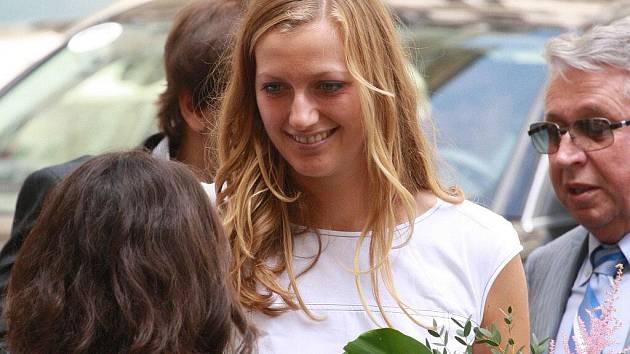 Na karlovarský filmový festival dorazila i tenistka Petra Kvitová