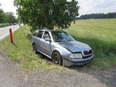 Dopravní nehody na Karlovarsku.