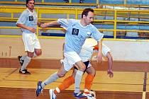 Futsalový zápas sokolovské Materie s FutFetem.