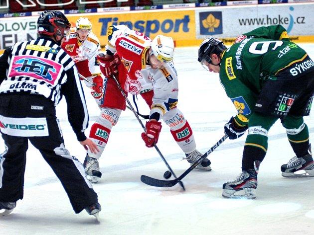 Ve 2. kole play-out se utkala domácí Energie se Slavií Praha.