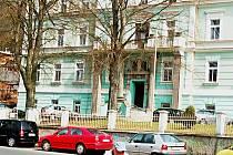 Karlovarské sídlo sdružení Euregio Egrensis na Vyhlídce.