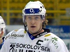 Václav Skuhravý, kapitán HC Energie