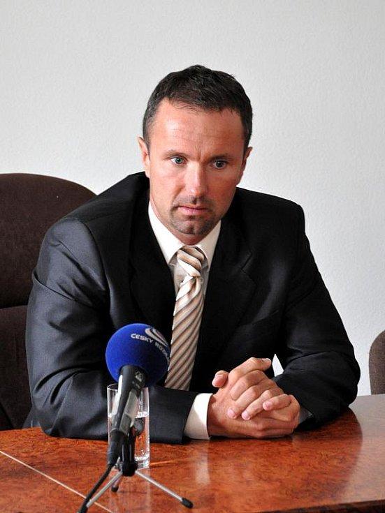 Nové představenstvo KKN a.s. Luděk Nečesaný