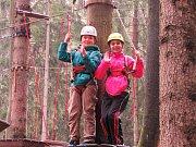 """TRASA """"JUNIOR"""" nabízí malým lezcům nová dobrodružství."""