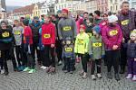 Novoroční běh v Lokti přilákal tentokrát více než dvě stovky úšastníků z celého regionu.
