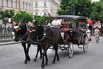 Kočáry v Karlových Varech