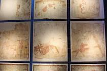 Unikátní fresky v nové expozici.