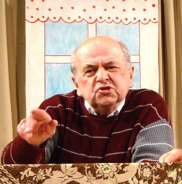 Jan Mareš. Foto archiv ostrovských ochotníků
