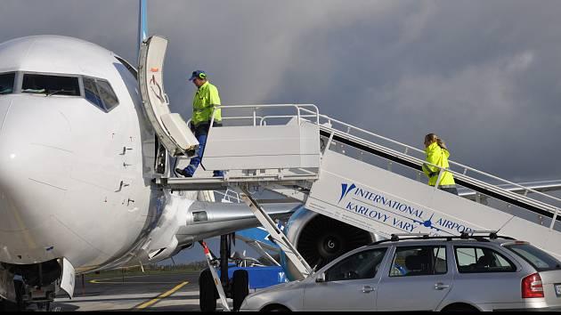 Letiště Karlovy Vary.