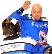 KOUČ. Hrající trenér SKV Sharks Karlovy Vary Jiří Berger.