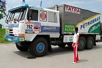 Tatra byla v Otovicích velkým lákadlem.