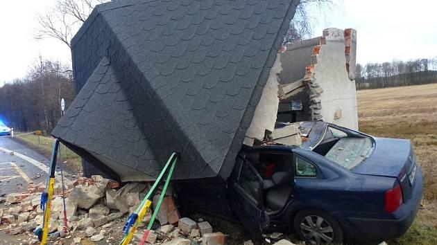 Tragická nehoda u Andělské Hory.