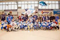 SKV Sharks Karlovy Vary, mistr sledge hokejové ligy roku 2013.