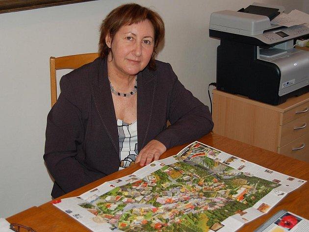 Olga Haláková, starostka Bečova nad Teplou