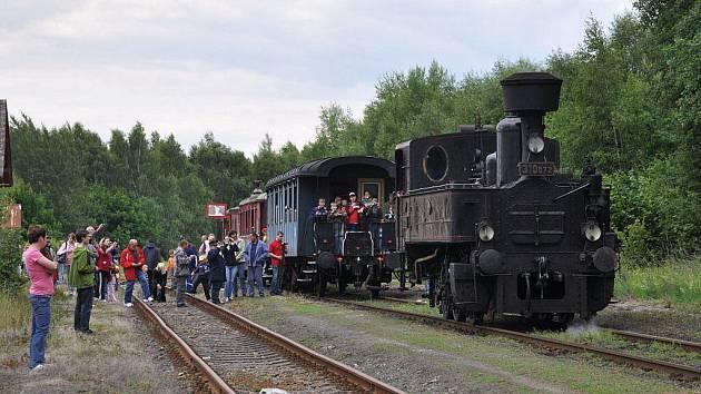 Parní lokomotiva 310.072 Kafemlejnek v Sadově