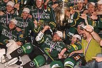 Po zisku mistrovského titulu si mužstvo z města horkých pramenů vydobylo účast v Lize mistrů. Mezinárodní hokejová federace však tuto soutěž pro sezonu 2009–2010 zrušila.