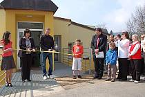 Slavnostní otevření komunitního centra v Perninku.