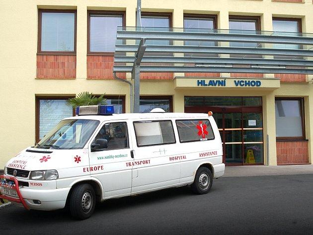Ostrovská nemocnice.