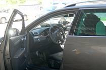 Nový policejní Volkswagen Passat.