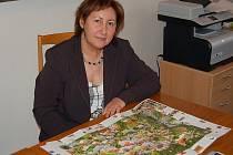 Starostka Bečova nad Teplou Olga Haláková