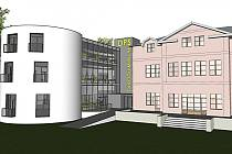 PODLE STUDIE by měl takto vypadat domov důchodců po rekonstrukci a přístavbě.