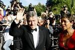 Robert De Niro na karlovarském filmovém festivalu.