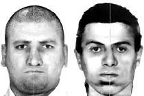 Dvojice zlodějů. Podle popisu poškozeného muže z Lokte sestavili policisté nový identikit pachatelů krádeží. Jednomu z nich je asi 50 až 55 let, druhý z darebáků je asi třicetiletý. Vyšší muž nosí při krádežích silné dioptrické brýle.