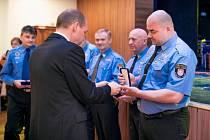Městská policie v Karlových Varech oslavila 25 let od svého založení.