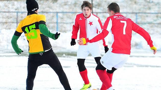 Ve druhém přípravném duelu zamíří karlovarská Slavia na půdu divizního Chomutova.
