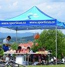 Karlovarský kamzík sklidil úspěch, na start se postavilo přes 300 bikerů.