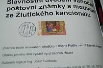 Pošta vydala známku s motivem Žlutického kancionálu.