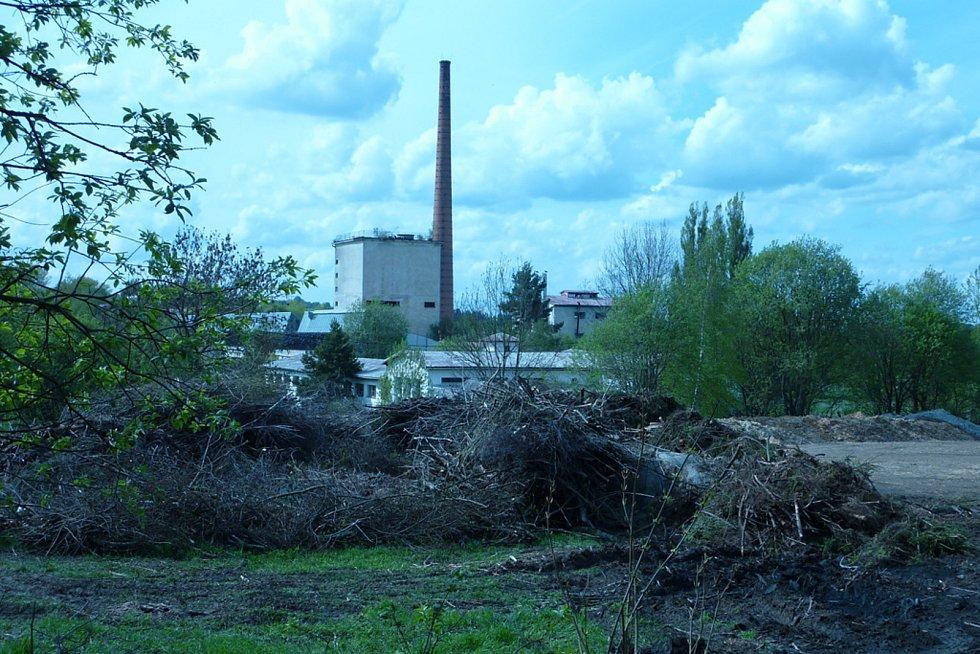 Areál bývalé továrny Jitona Teplá. Foto: archiv agentury CzechInvest