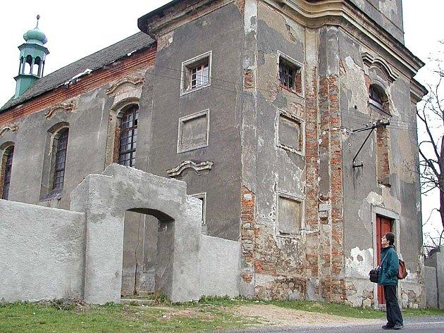 Kostel v Údrči.