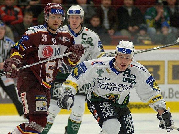 Zápas 47. kola hokejové extraligy, Energie – Sparta.