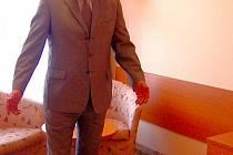 Ředitel karlovarského hotelu Thermal Josef Pavel