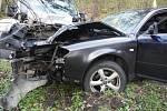 Silnici na Kyselku uzavřela na tři hodiny nehoda
