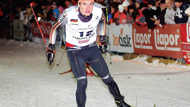 V Karlových Varech se v pátek odpoledne konala akce nazvaná Ski Sprint.