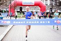 KARLOVARSKÁ TRIATLONISTKA Heidi Juránková (na snímku) si doběhla v Příbrami pro triumf v kategorii žen.