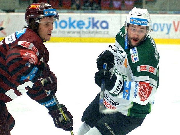 Michal Vachovec v souboji
