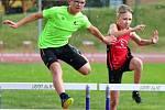 Atletický stadion v Ostrově  patřil mistrovství Karlovarského kraje mladšího žactva ve vícebojích a také 1. kolu OMD mladšího žactva, závodů se zúčastnilo devětapadesát atletů.