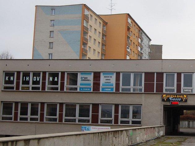 Severka. Herna v blízkosti dětské knihovny.