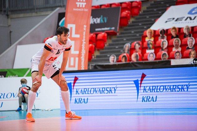 Lukasz Wiese patřil ve Final eight Českého poháru knejlepším hráčům celého turnaje, ale ani to nepomohlo Karlovarsku kvysněnému triumfu.