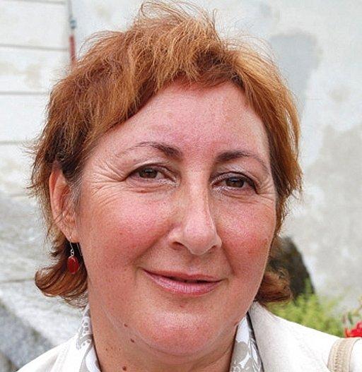 Olga Haláková,strostka Bečova.