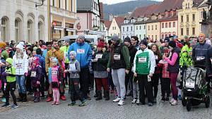 Tradiční Novoroční běh kolem Lokte