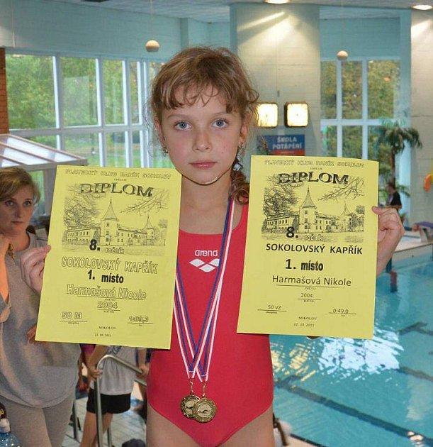 Naděje karlovarského plavání
